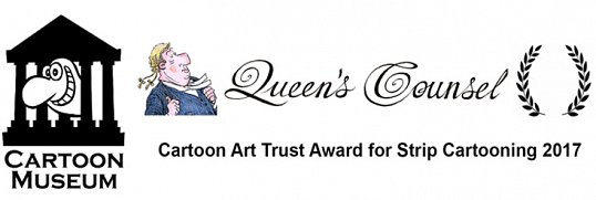 Queen's Counsel Wins Best Strip Cartoon