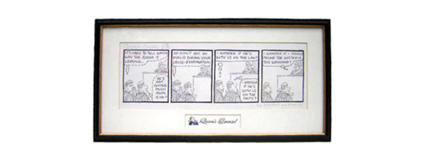 Queen's Counsel Cartoons for the Lawyer in Your Life!