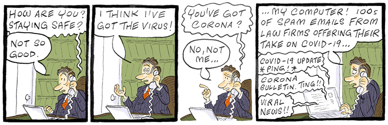 Law Firm Virus
