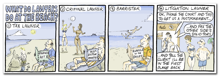 What Do Lawyers Do At The Beach?