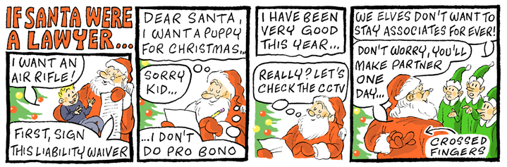 If Santa Were a Lawyer.....