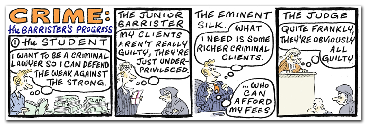 Crime - the Barrister's Journey